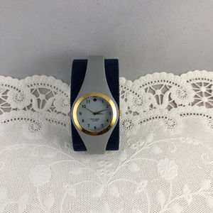kate spade Accessories - Kate Spade Live Colorfully Grey Gray Jelly Watch
